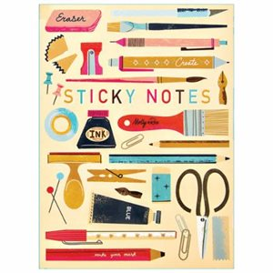 ART SUPPLY STICKY PAD PORTFOLIO BY MODA - MULTIPLE OF 4