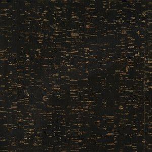 "CORK FABRIC 18"" X 15"" BY MODA - BLACK / GOLD - MULTIPLE 3"