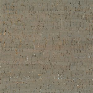 "CORK FABRIC 18"" X 15"" BY MODA - TAUPE / SILVER - MULTIPLE 3"