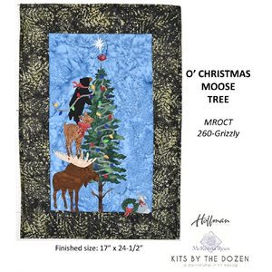 O' CHRISTMOOSE TREE KIT - GRIZZLY BY HOFFMAN