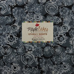 STORMY NIGHTS ASSORTMENT MAPLE CAKES - 40 PCS. /  PACKS OF 4