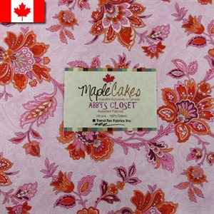 ABBY'S CLOSET ASSORTMENT MAPLE CAKES - 40 PCS. /  PACKS OF 4